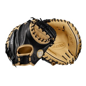 "2019 A2000 CM33 33"" Catcher's Baseball Mitt - Right Hand Throw"