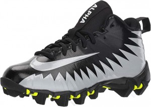 Nike Kids Alpha Menace Shark (Black/Metallic Silver/White)