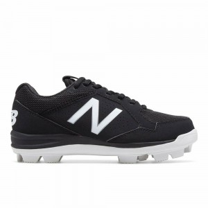 New Junior New Balance All-Star Low Molded Baseball Cleats Black