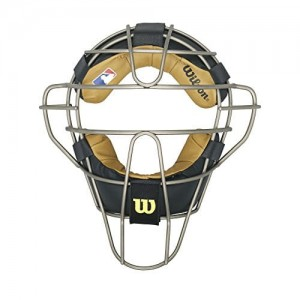 Wilson Dyna-Lite Titanium Umpire Mask in Black