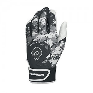 DeMarini Digi Camo II Adult Batting Glove-Black