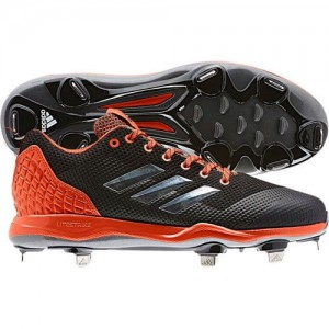 Adidas Mens PowerAlley 5 Metal Cleats
