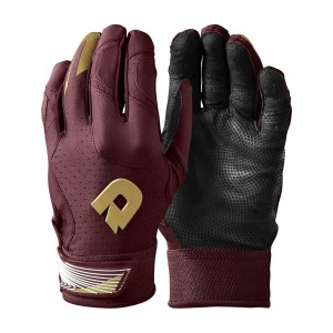 Adult DeMarini CF Batting Glove Maroon S