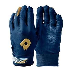 Adult DeMarini CF Batting Glove Navy