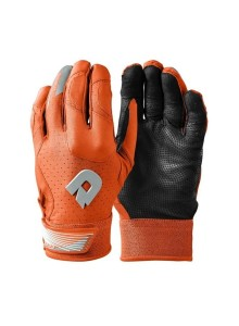 Adult DeMarini CF Batting Glove Orange